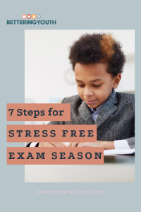 7 steps for stress free exams