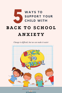 5 tips to squash back to school anxiety