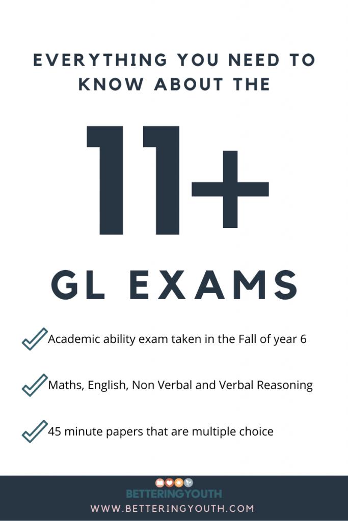 11+ GL exams board