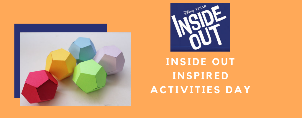 Inside Out Inspired Activities Day