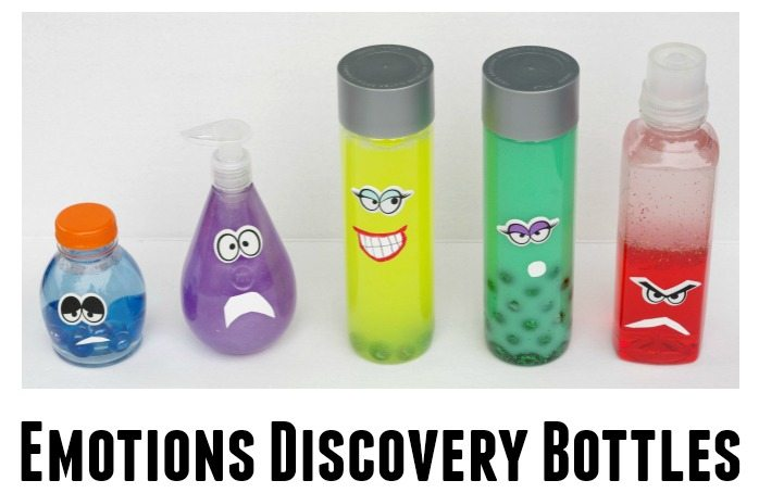 Emotions Discovery bottles