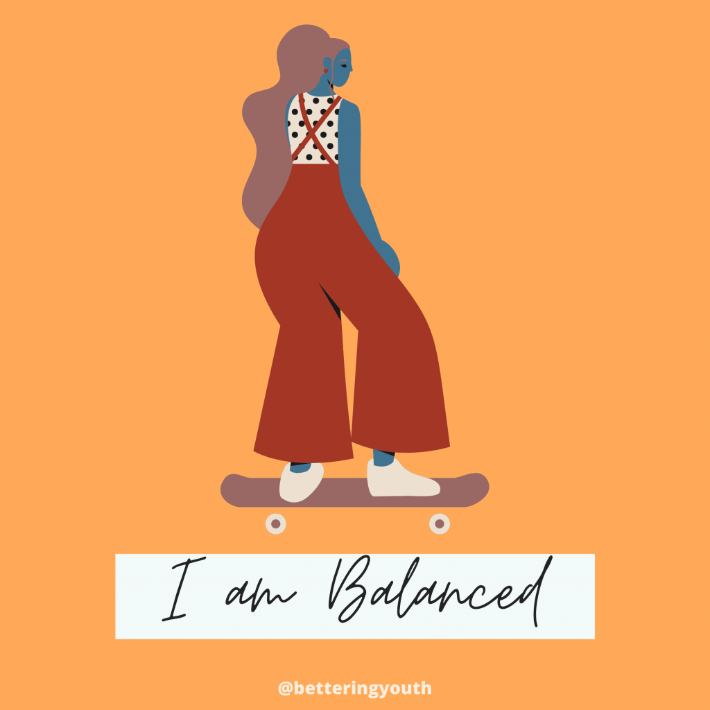 I am Balanced mantra