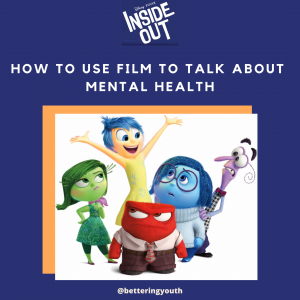 Disney Inside Out characters demonstrate how to speak about mental health
