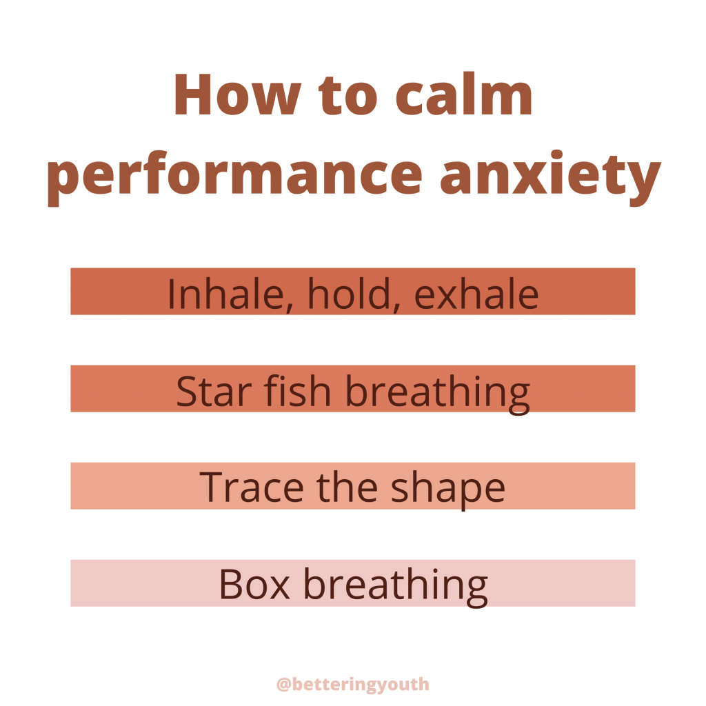 4 breathing techniques to ease performance anxiety