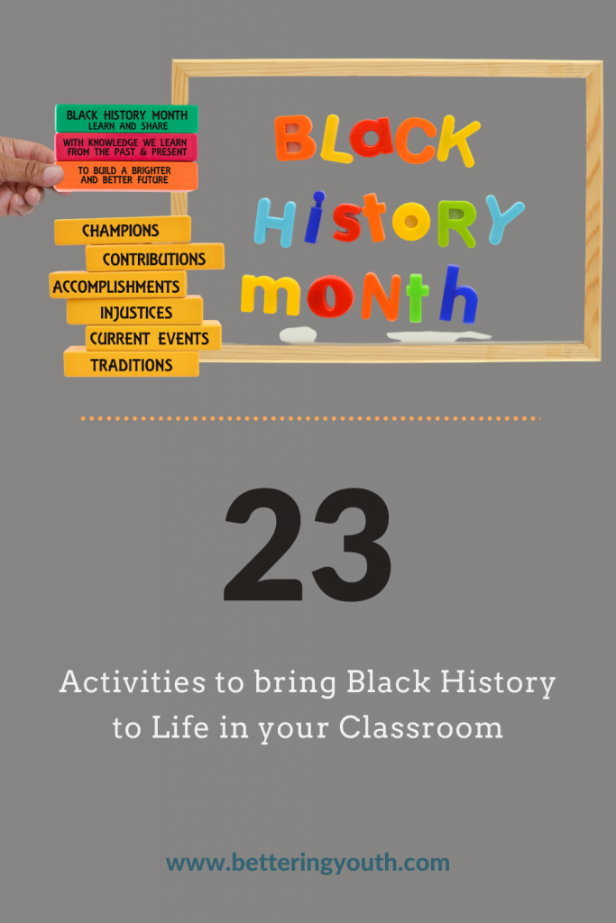 23 Activities to bring black history to life in the classroom