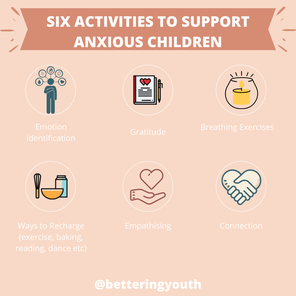 Bettering Youth shares 6 activities to support anxious children