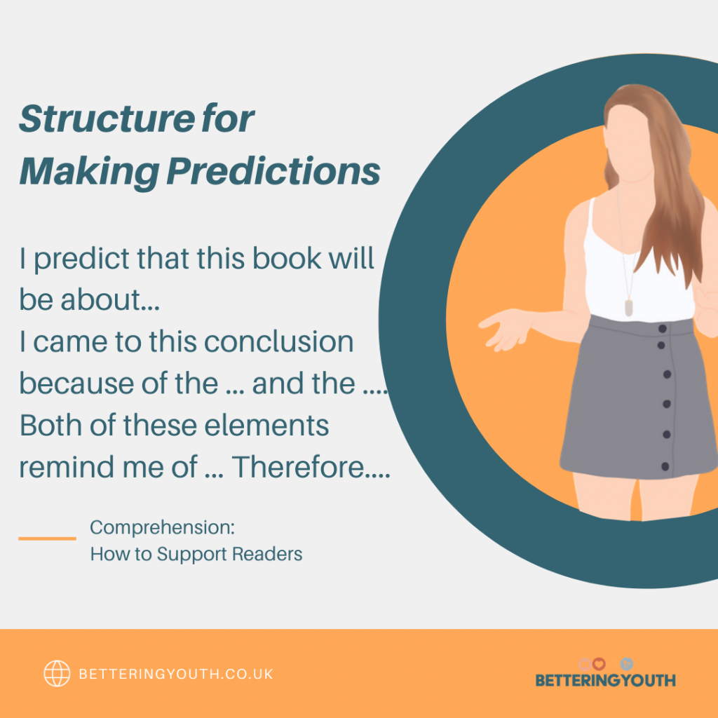Writing layout for making predictions