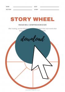 Story wheel worksheet