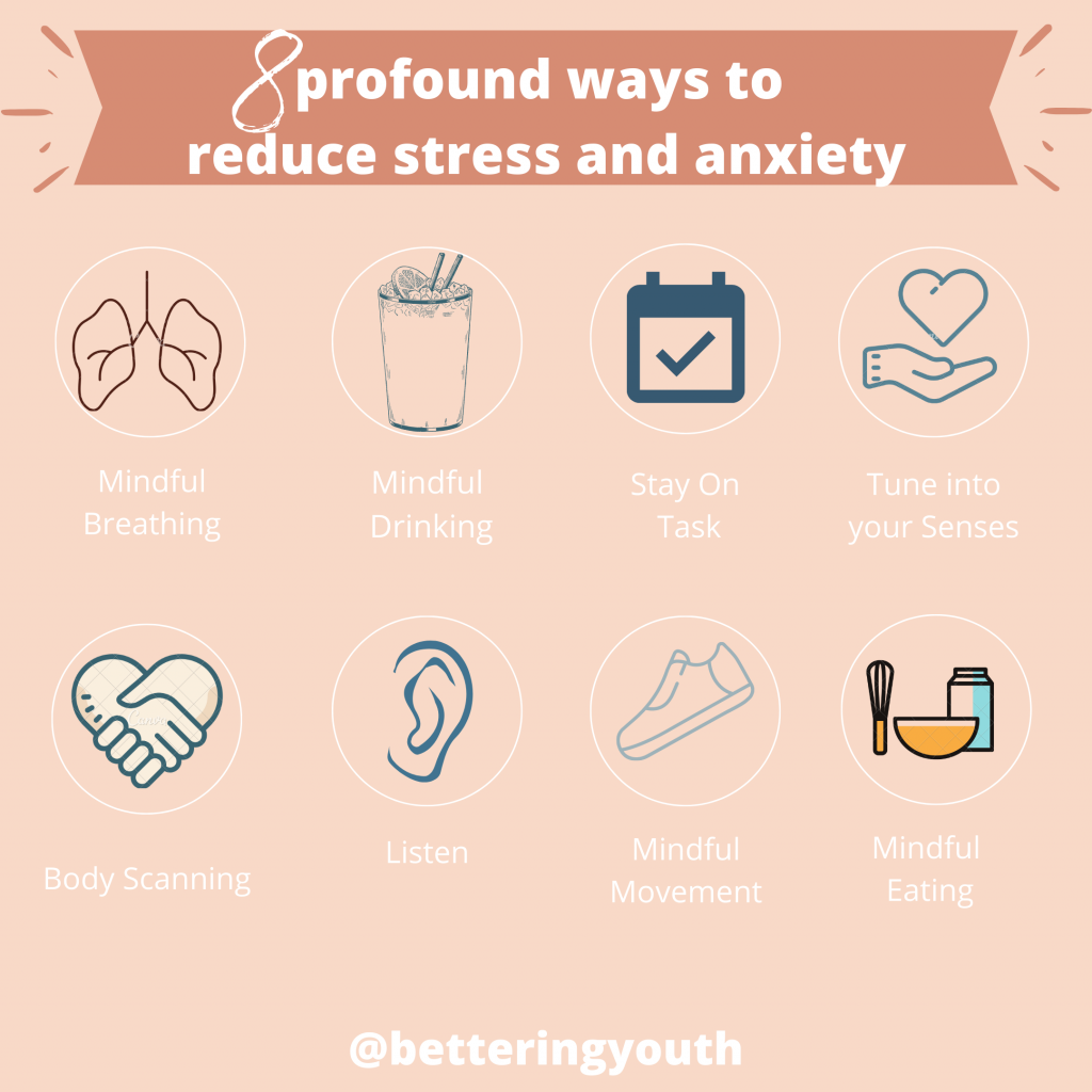 8 ways to reduce stress and anxiety