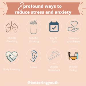 8 ways for stress free