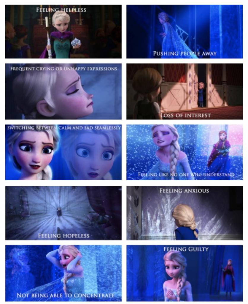 Disney teaches Mental Health