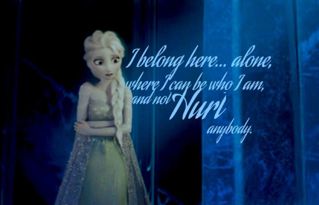 Frozen teaches mental health