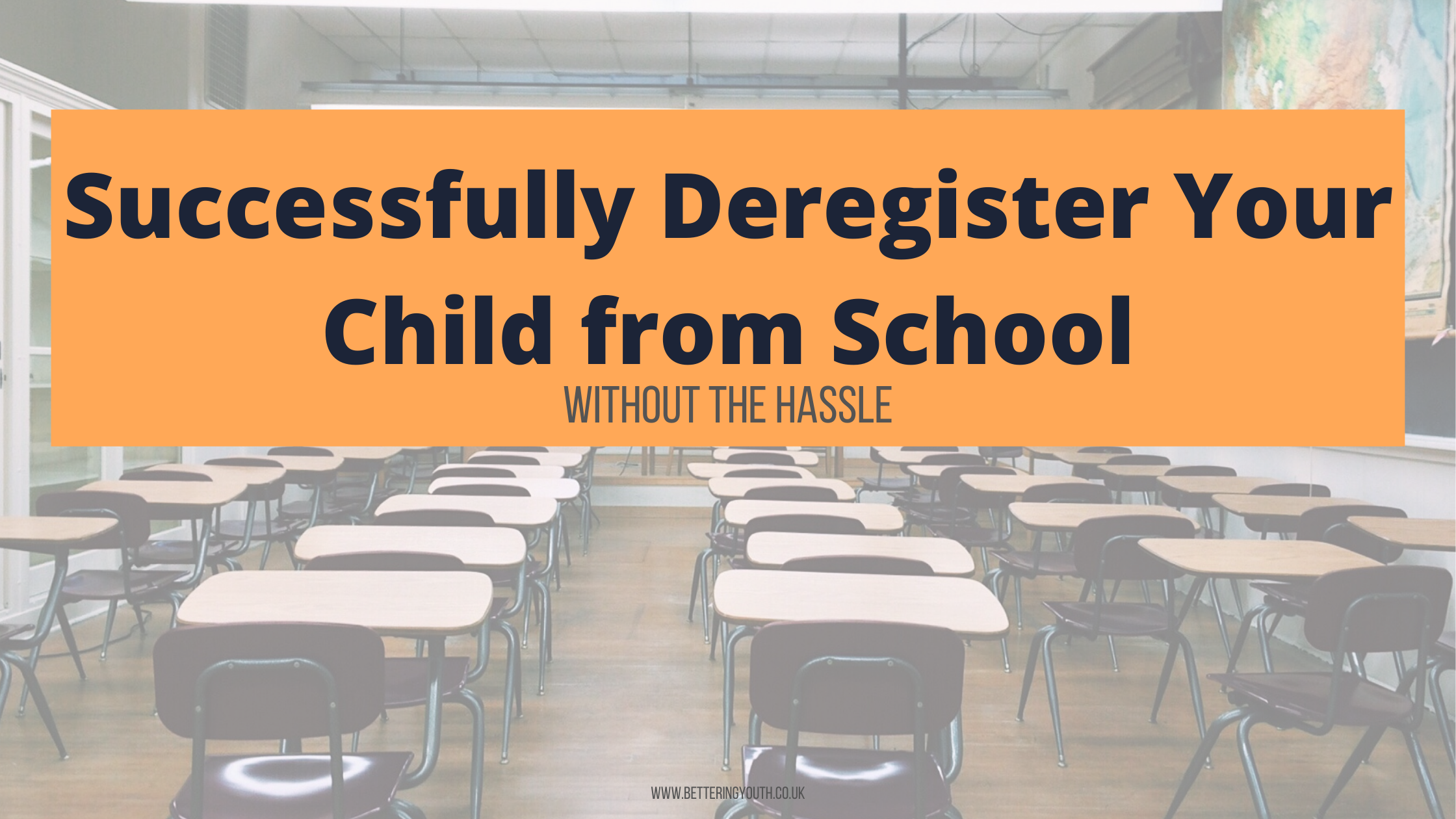 Successfully deregister your child from school