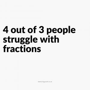 fraction joke