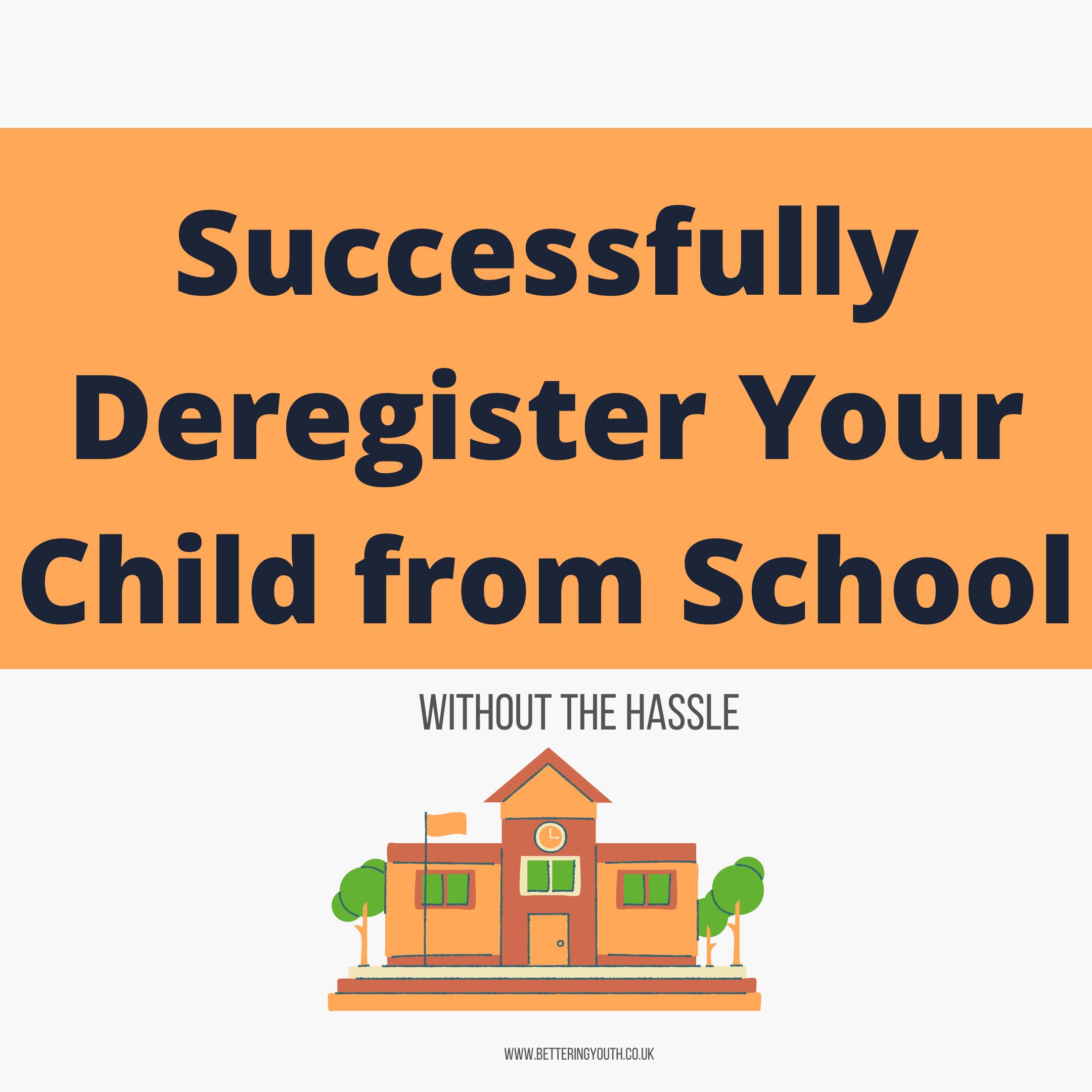 deregister your child