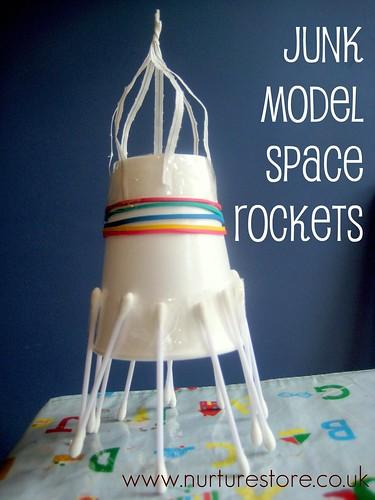 Make a rocket from junk