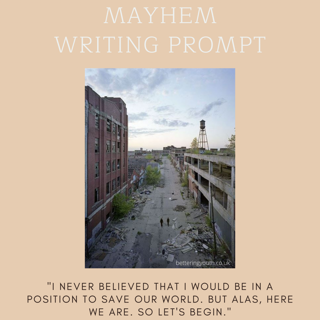 Creative writing prompt for end of the world.