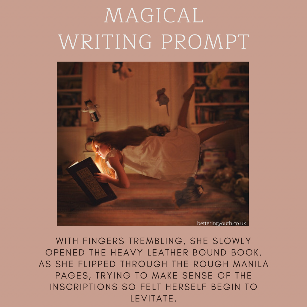 Creative writing prompt for floating book http://www.carolynhampton.com/index2.php#!/home