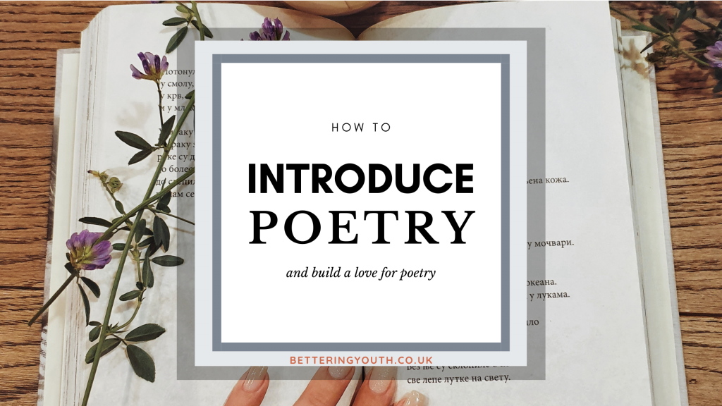 how to introduce poetry blog banner