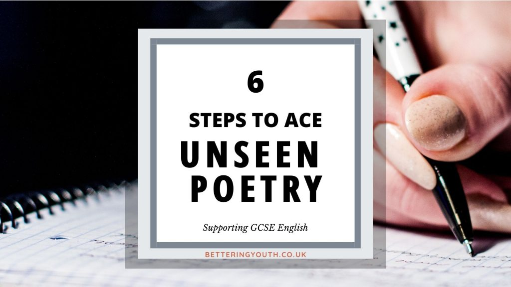 6 steps to ace unseen poetry