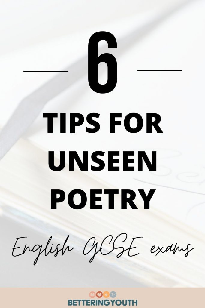 6 tips for unseen poetry