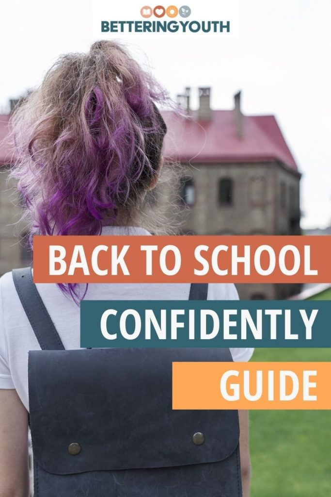 Back to School anxiety supported with Bettering Youth guide